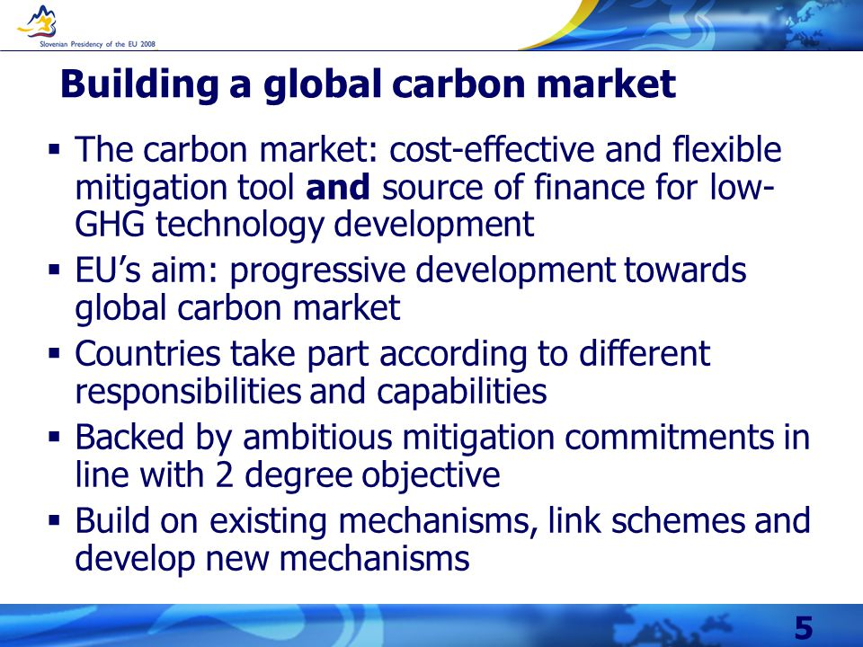 16 Need to explore new mechanisms to incentivise enhanced mitigation: e.g.
