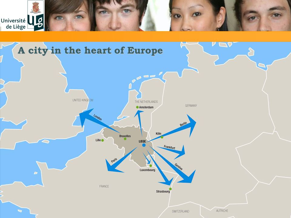 A city in the heart of Europe