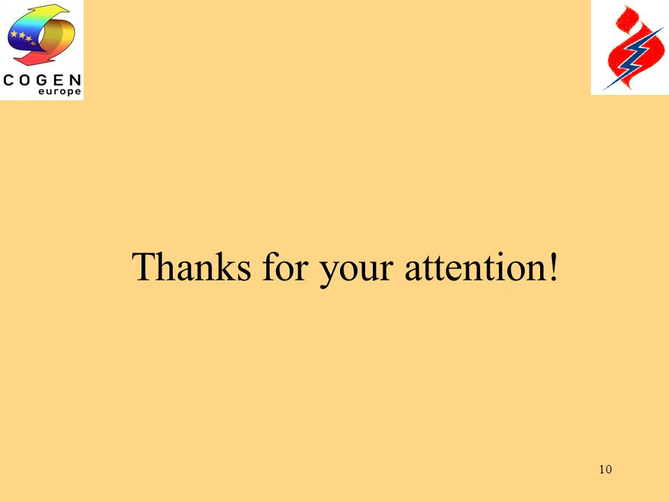10 Thanks for your attention!