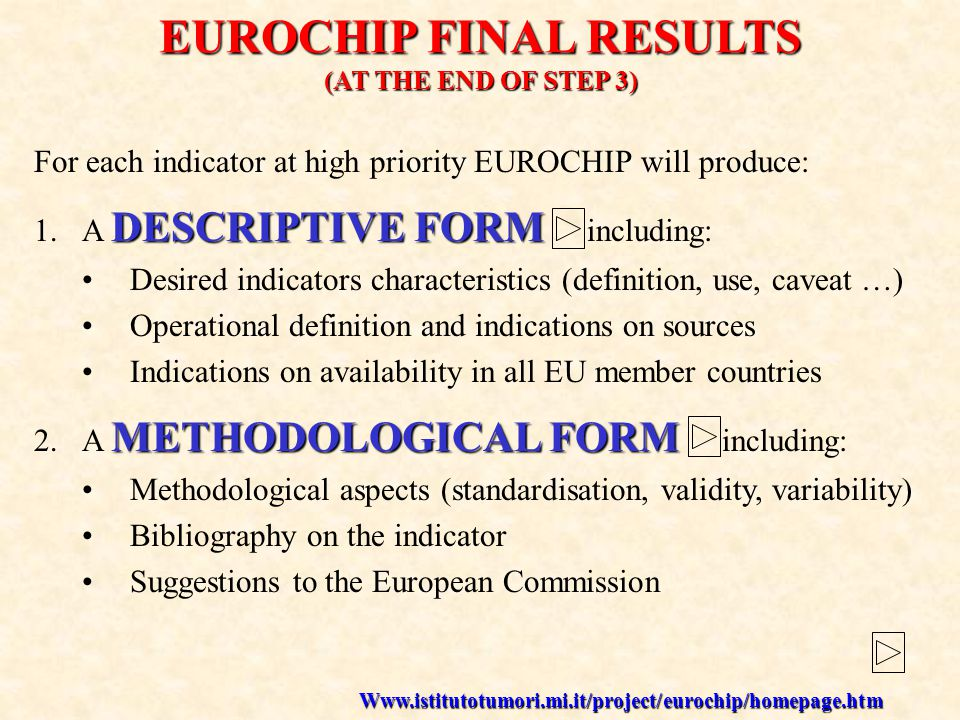 PUBLIC HEALTH IN EUROPE the European past and next strategy FOCUS ON CANCER past/present in HMP: EUROCHIP and CAMON next: Working Party