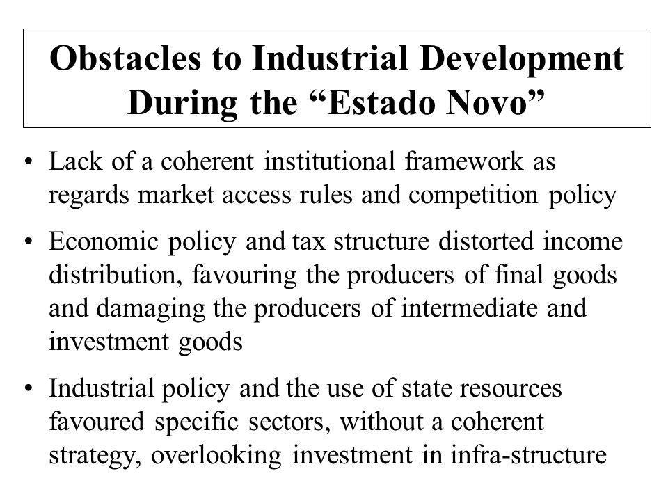 De-industrialisation and the Increase in the Weight of Services from 1975 Policies of job creation in a growing public sector, particularly in healthcare, education, transport and public utilities Progressive growth in trade and tourism sectors and, from the mid-1980s, in the liberalised financial services sector Increasing specialisation and vertical disintegration of industrial activities Lack of external competitiveness of industrial sectors led to an increase of investment in services