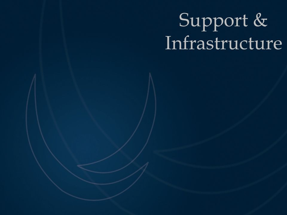Support & Infrastructure