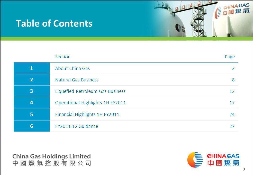 About China Gas