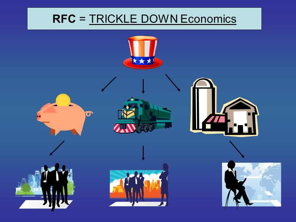 RFC = TRICKLE DOWN Economics