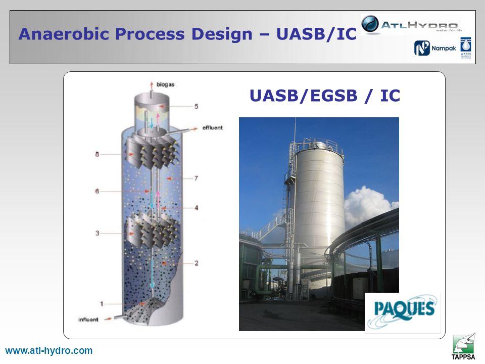 Anaerobic Process Design – UASB/IC www.atl-hydro.com UASB/EGSB / IC