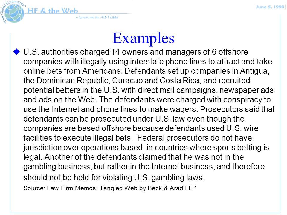 Examples uU.S.