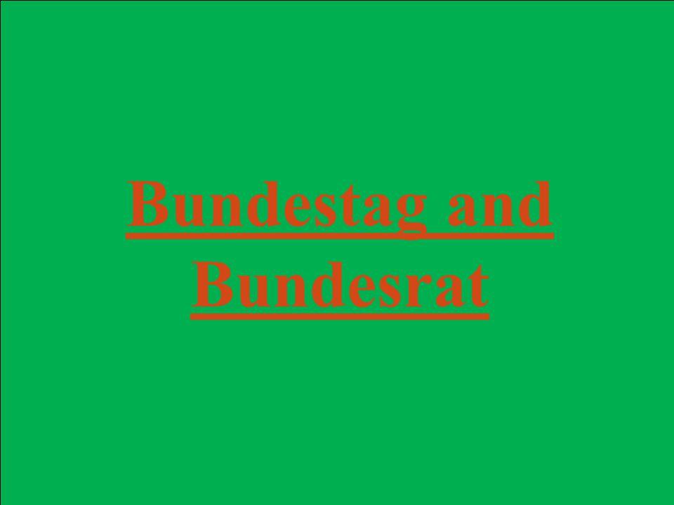 Bundestag and Bundesrat