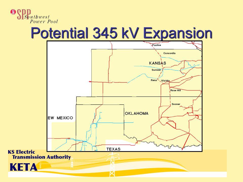 Potential 345 kV Expansion