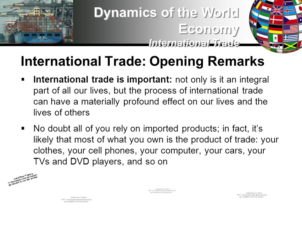 International Trade: The WTO Radicals are the most skeptical and even hostile toward the WTO One of their biggest objections is that the WTO is fundamentally undemocratic, and makes decisions that reflect only the interests of powerful corporate actors, while ignoring the voice of the people We can see this view illustrated in this video Dynamics of the World Economy International Trade Video intentionally removed See Coursesite
