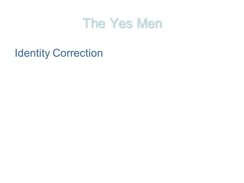 The Yes Men Identity Correction