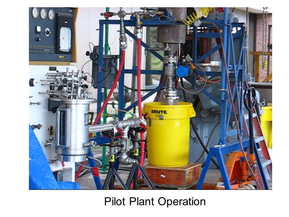 Pilot Plant Operation