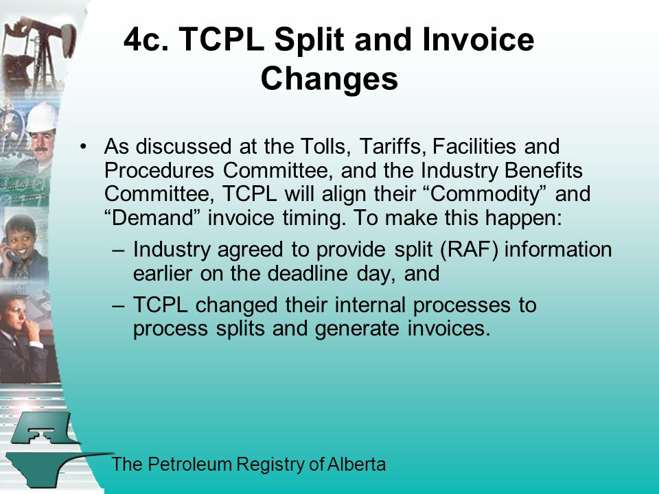 The Petroleum Registry of Alberta 4c.