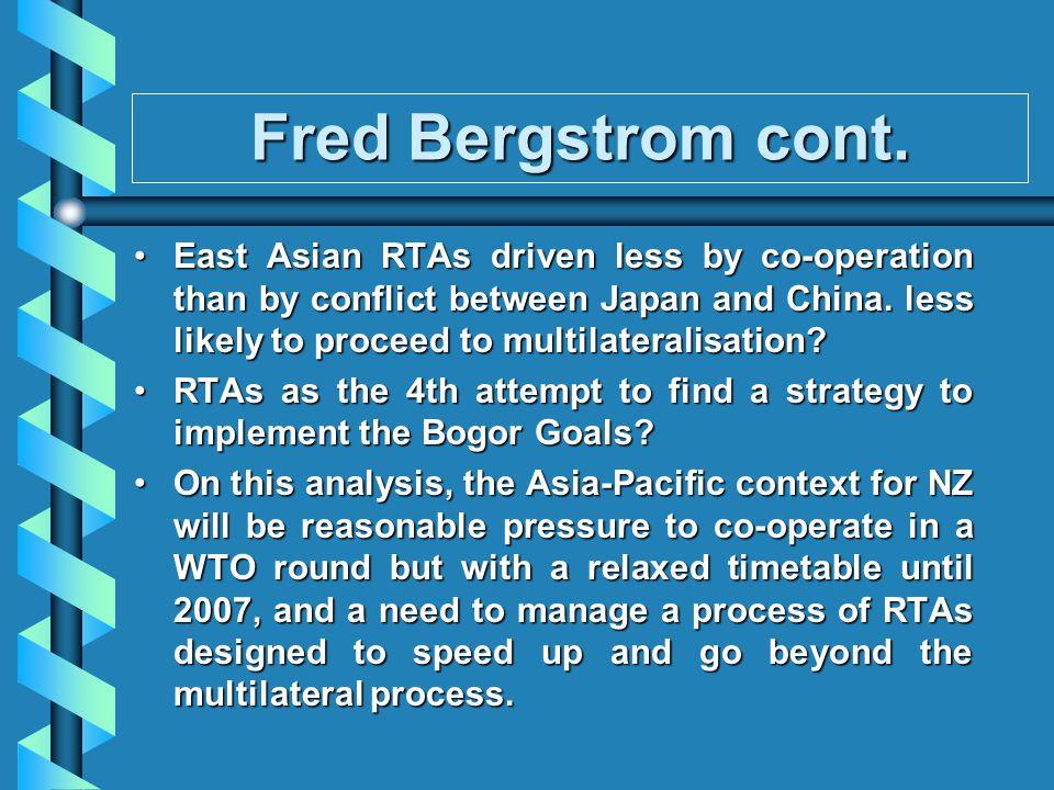 Fred Bergstrom cont.