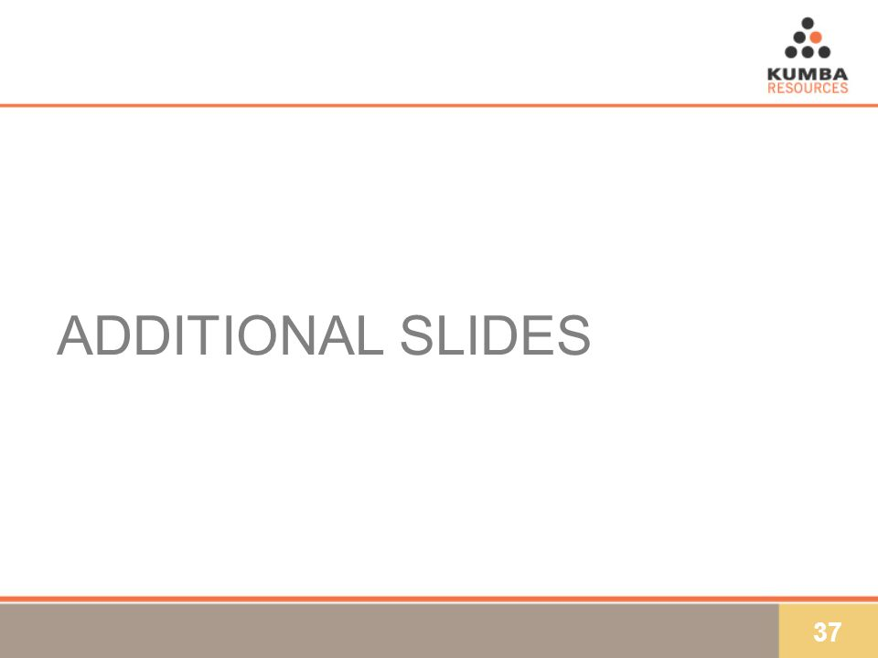 37 ADDITIONAL SLIDES