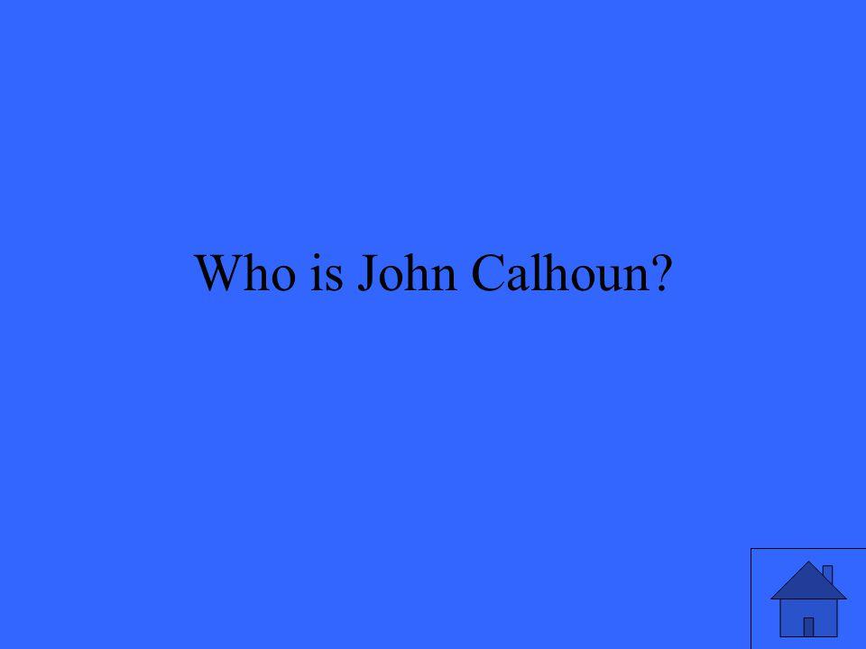 Who is John Calhoun