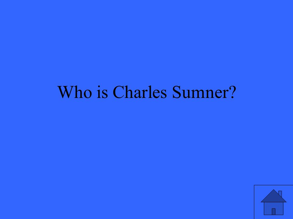 Who is Charles Sumner