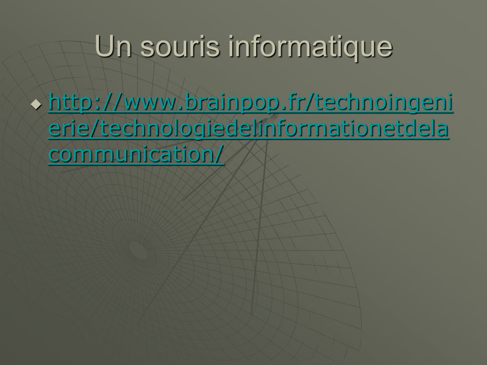 Un souris informatique   erie/technologiedelinformationetdela communication/   erie/technologiedelinformationetdela communication/   erie/technologiedelinformationetdela communication/   erie/technologiedelinformationetdela communication/