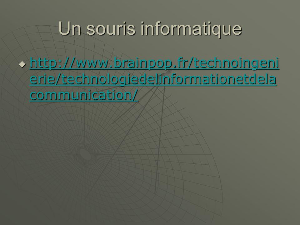Le stockage de données http://www.brainpop.fr/technoingeni erie/technologiedelinformationetdela communication/ http://www.brainpop.fr/technoingeni erie/technologiedelinformationetdela communication/ http://www.brainpop.fr/technoingeni erie/technologiedelinformationetdela communication/ http://www.brainpop.fr/technoingeni erie/technologiedelinformationetdela communication/