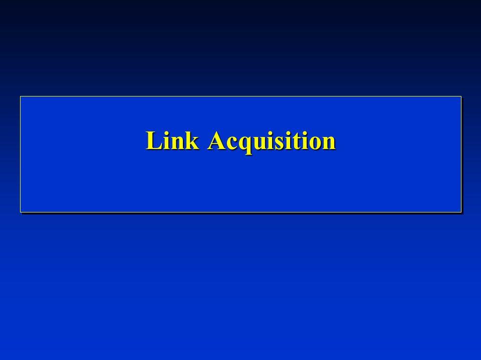 Link Acquisition