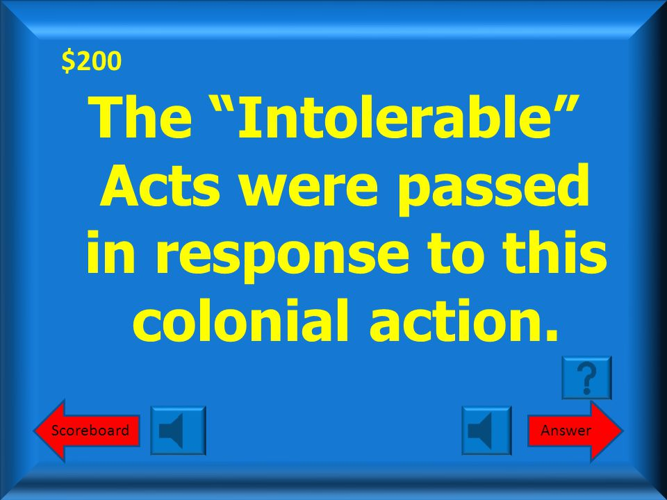 $100 Stamp Act Congress What is the Stamp Act Congress? Round 1
