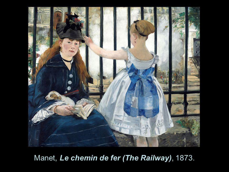 Manet, Le chemin de fer (The Railway), 1873.