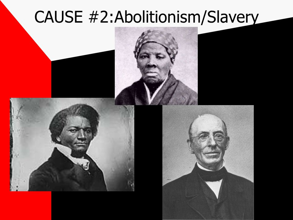 CAUSE #1 States Rights regarding taxation and slavery