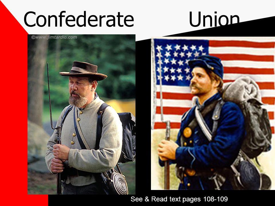 The Civil War: Union vs Confederacy