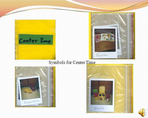 Symbols for Center Time