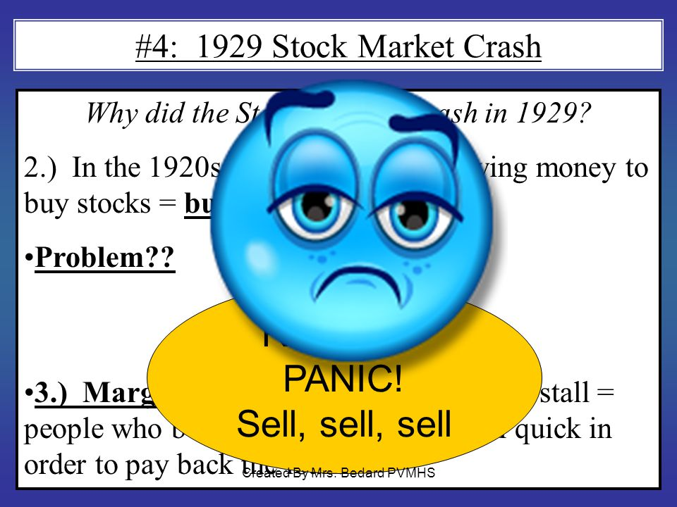 Why did the Stock Market Crash in 1929.