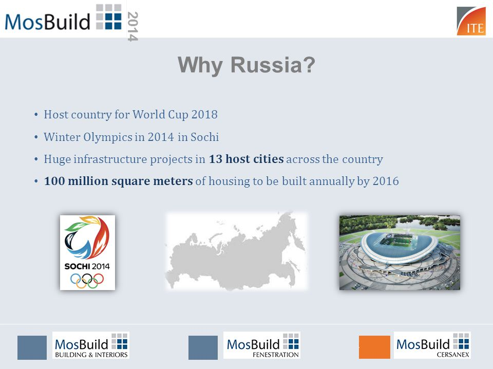 2014 Why Russia? Host country for World Cup 2018 Winter Olympics in 2014 in Sochi Huge infrastructure projects in 13 host cities across the country 10