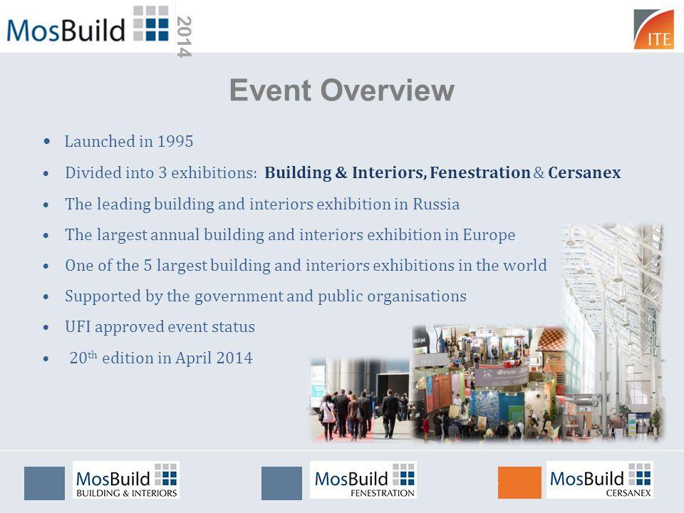 2014 We have a long history at MosBuild.