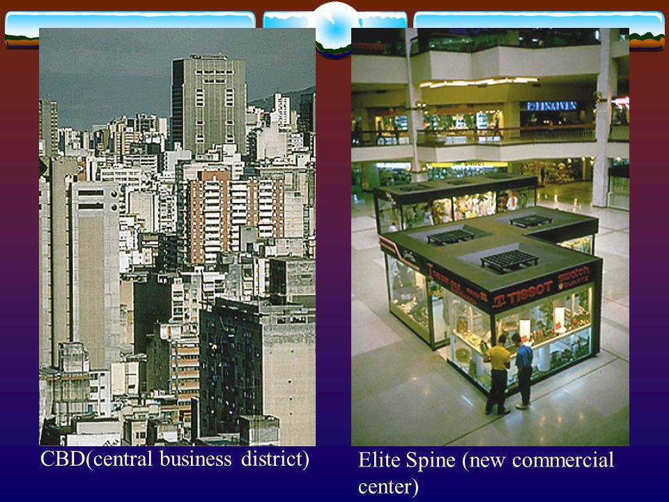 CBD(central business district) Elite Spine (new commercial center)
