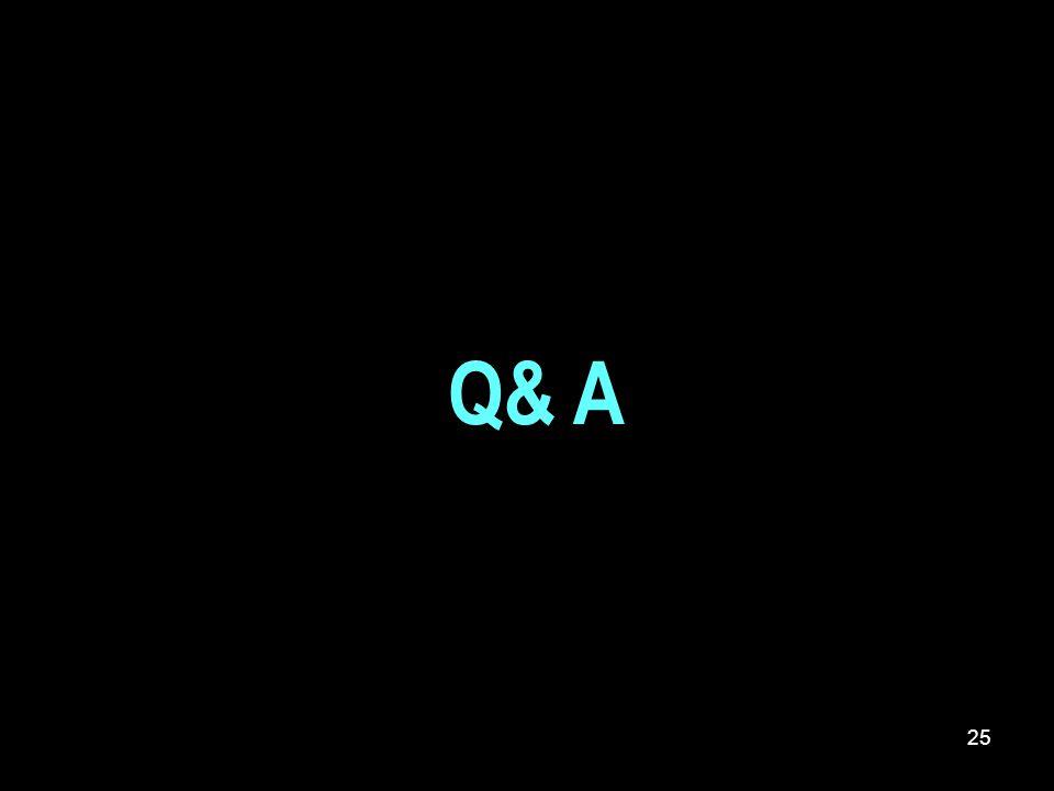 Q& A 25