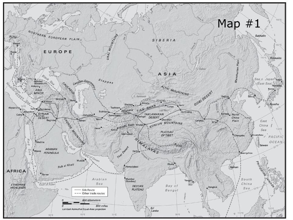 Silk roap map1 Map #1