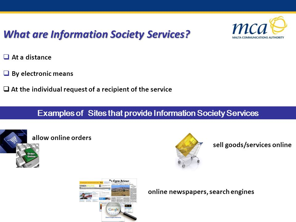 What are Information Society Services.