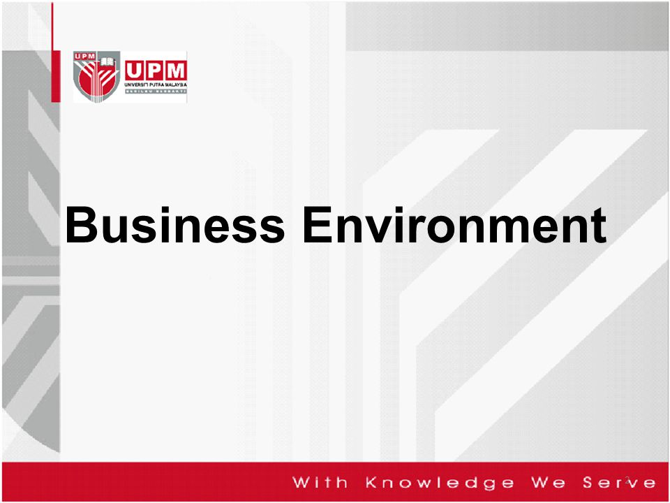 Business Environment 2