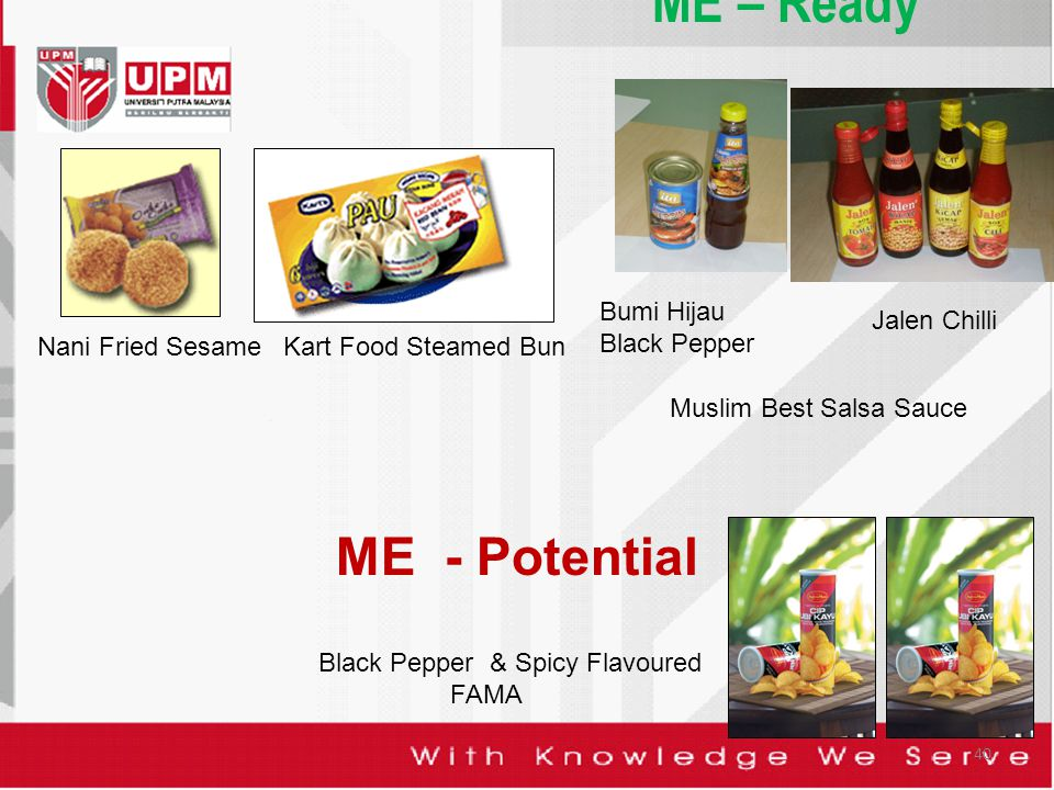 40 ME – Ready Bumi Hijau Black Pepper Jalen Chilli Black Pepper & Spicy Flavoured FAMA Nani Fried SesameKart Food Steamed Bun Muslim Best Salsa Sauce