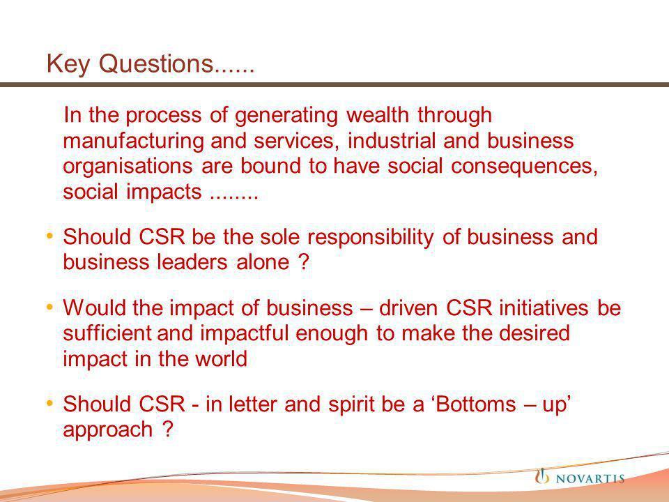 Key Questions......