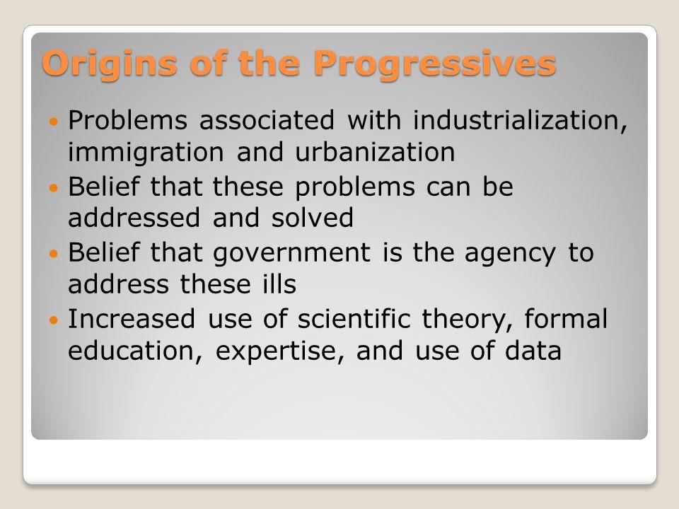 Who were progressives.