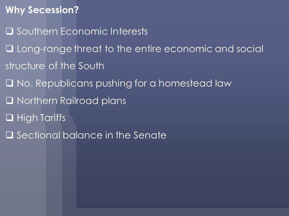 Why Secession.