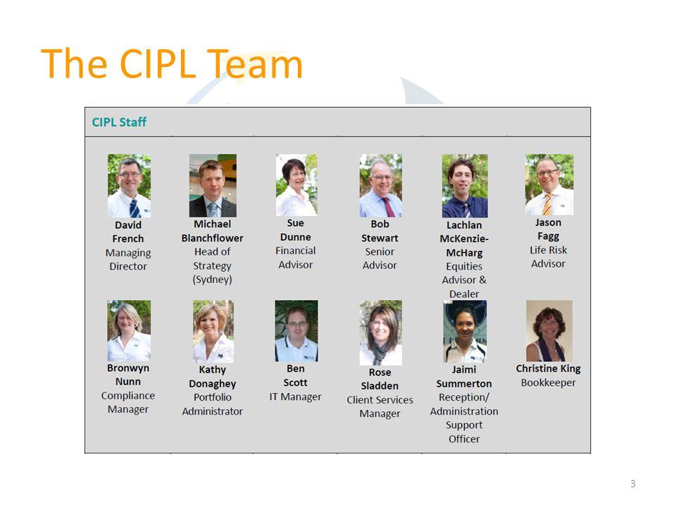 The CIPL Team 3