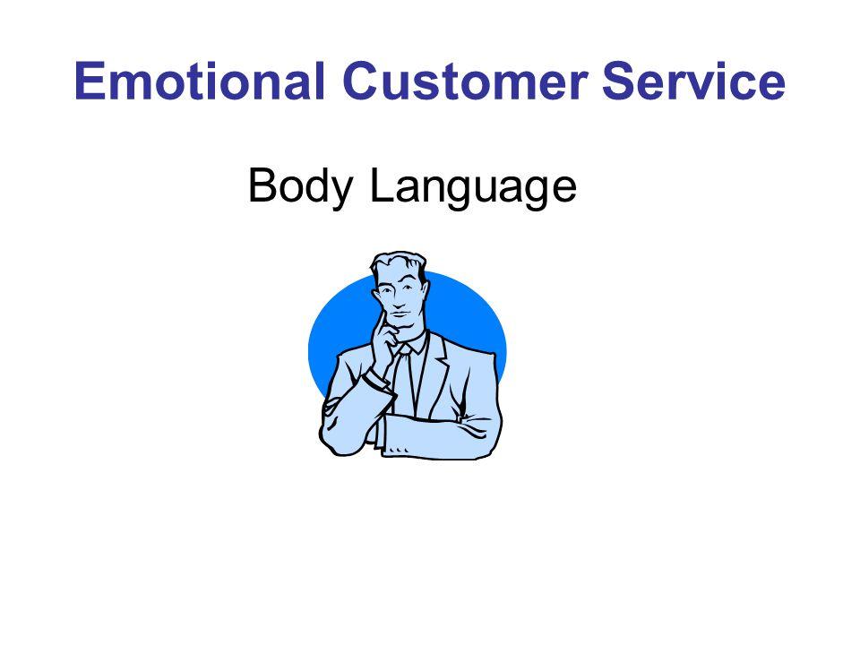 Emotional Customer Service Body Language