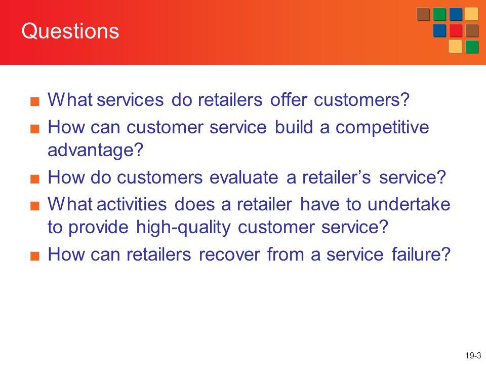 19-14 Gaps Model for Improving Service Quality