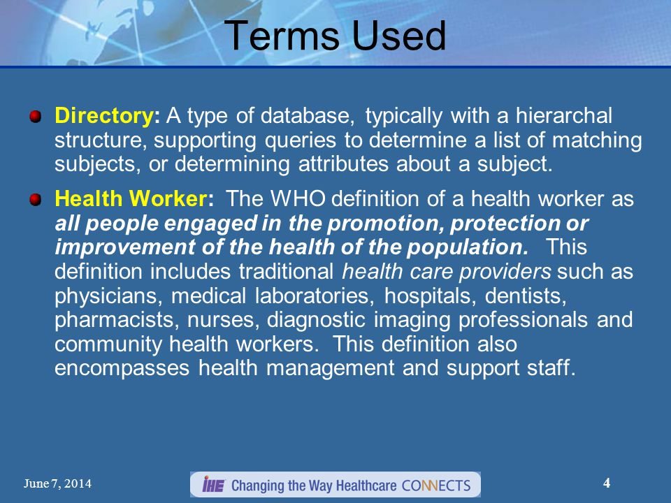 5 CSD Introduction Care Services Discovery Profile (CSD) supports queries across related directories containing data about: organizations, facilities, services and providers.