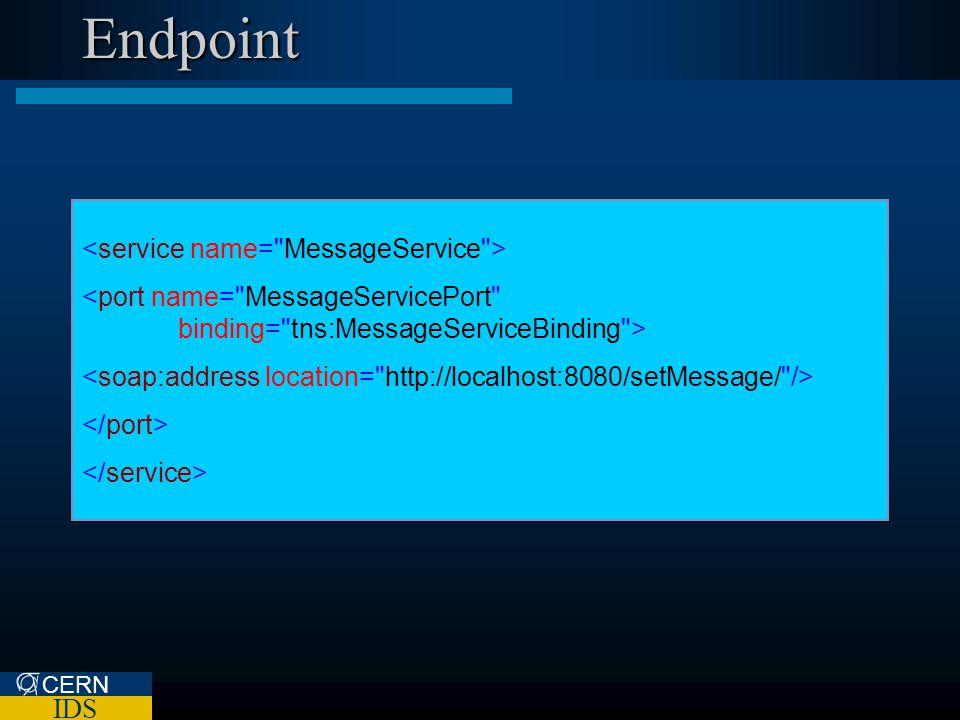 CERN IDS Endpoint