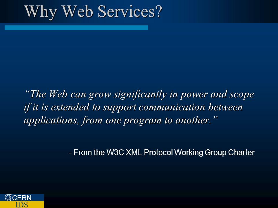 Web Services Future CERN IDS