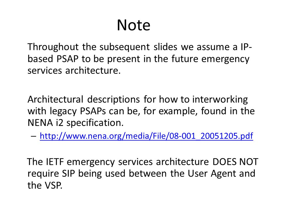 Notes on Media Traffic RTP based media traffic RFC 3550 mandatory Minimum requirements for interoperability: Audio codec: G.711 Silence suppression not used.
