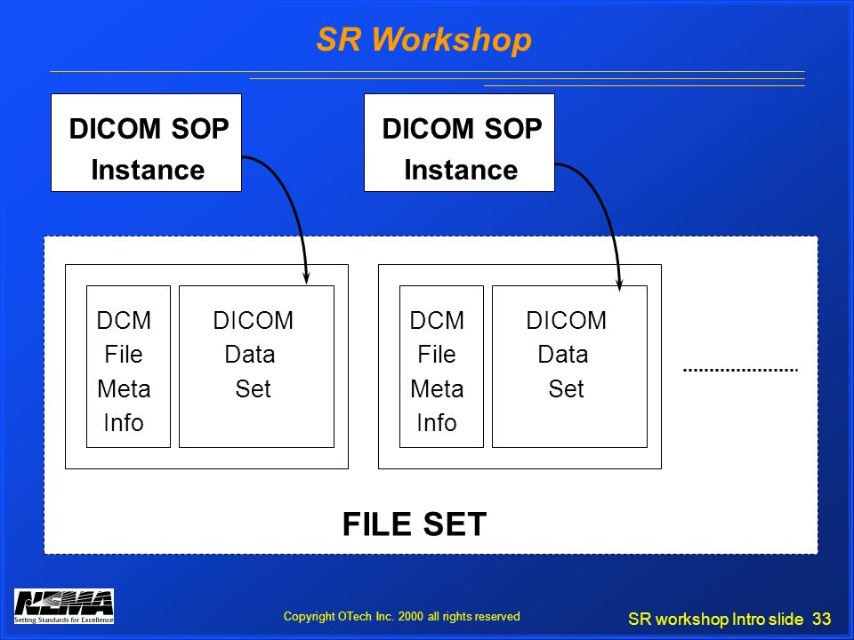 SR workshop Intro slide 33 SR Workshop Copyright OTech Inc.