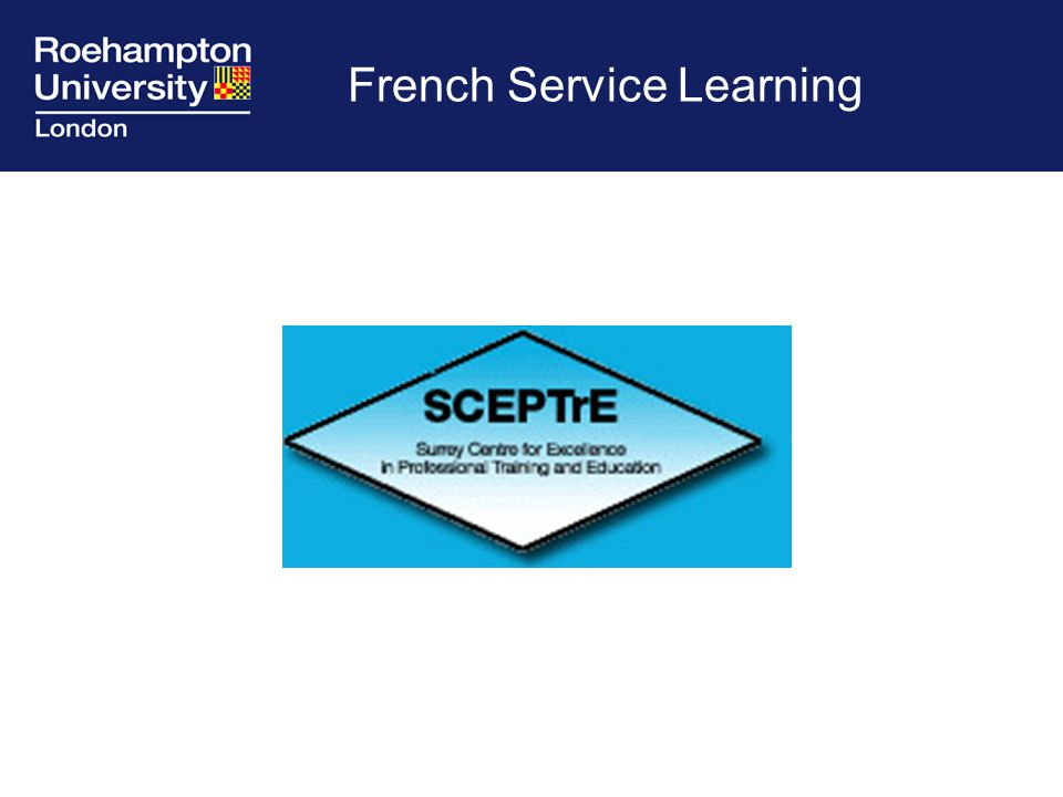 French Service Learning