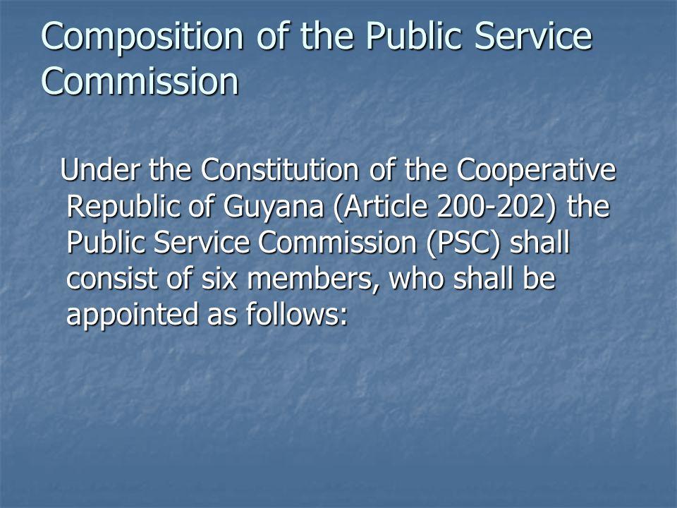 ORGANISATIONAL CHART - SECRETARIAT POLICE/PUBLIC SERVICE COMMISSION
